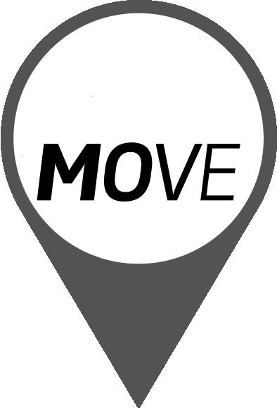 Ladestationen, die mit dem MOVE Logo gekennzeichnet sind, sind Teil des MOVE Ladenetzwerks.